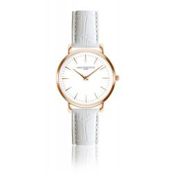 Moteriškas laikrodis Annie Rosewood su balta apyranke